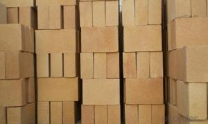 Clay brick of hot air stove
