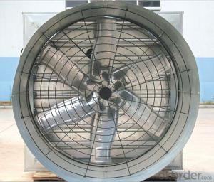 Stainless Steel Shutter Exhaust Cone Fan
