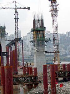 Cantilever Formwork  Anchor System used