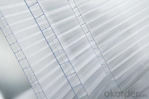 CMAX - Hollow PC Roofing Sheet Made of 100% Virgin Sabic Material