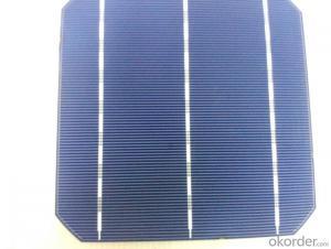 156*156MM Monocrystal Solar Cell with 4.52 Watt high Efficiency