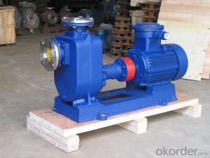ZX 2 inch 5.5kw self priming centrifugal  water pump