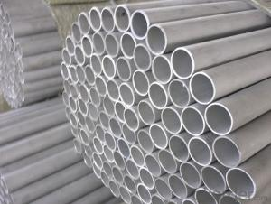 Seamless Stainless Steel Pipe Tube ASTM 204 for construction