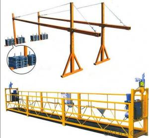 Suspended Platform for building site
