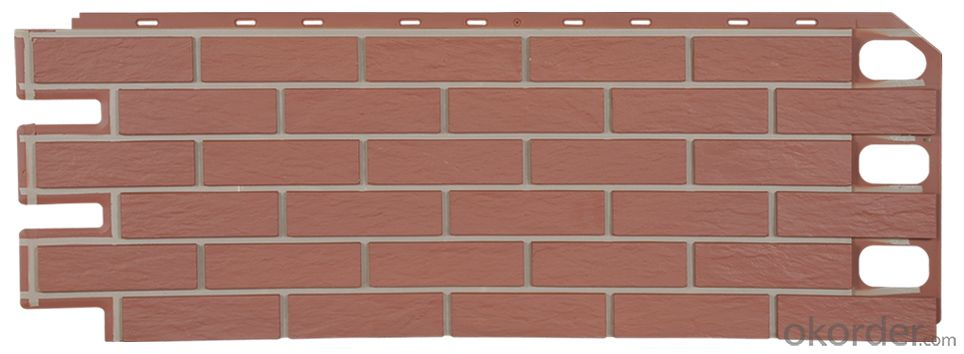exterior brick panel siding wall panel VD100401-VDC110