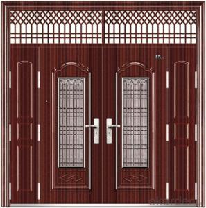hot sale machines making steel door latest design steel security door