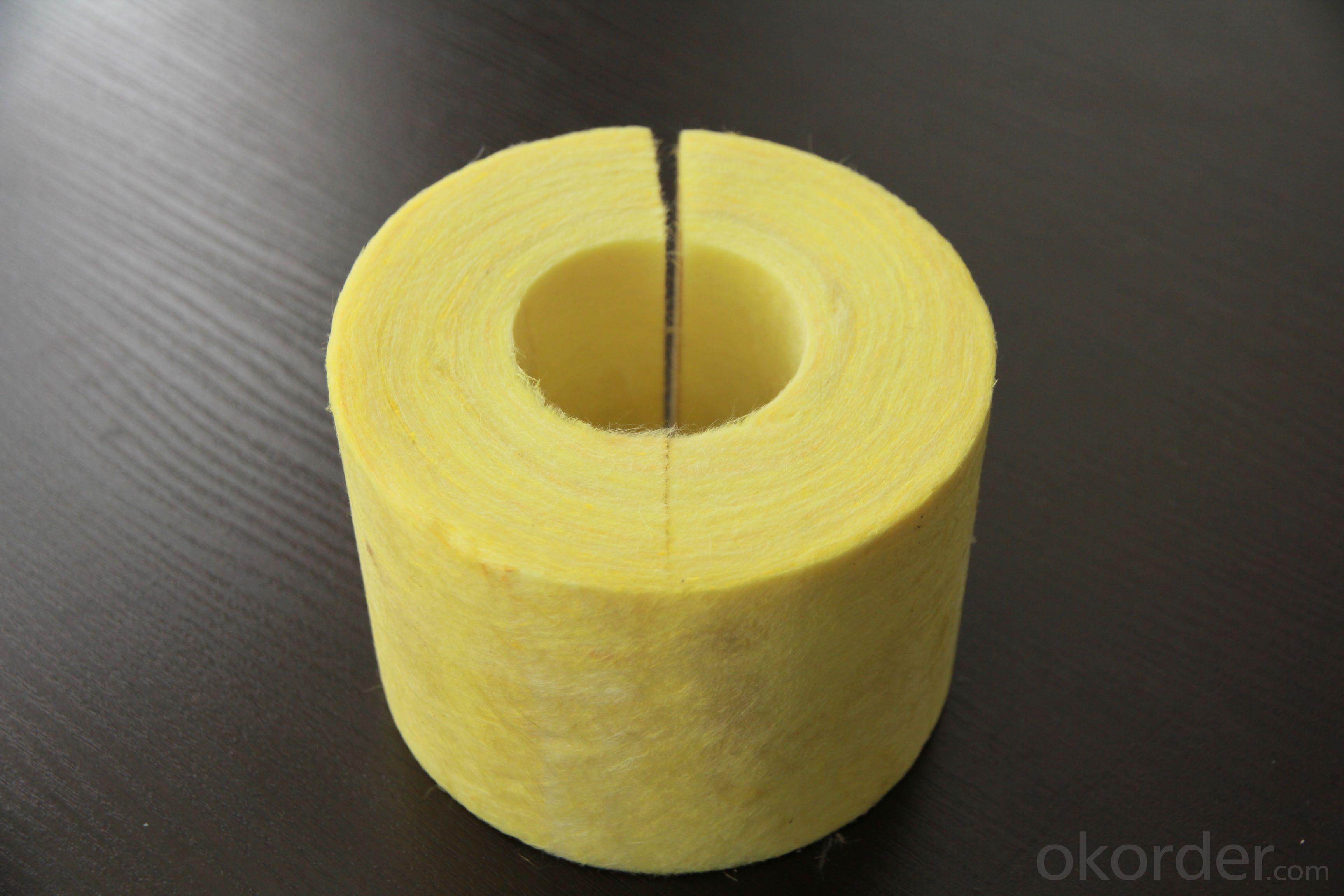 Glass Wool Pipe for HVAC Insulation Material