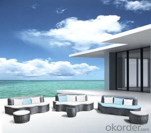 Plastic outdoor furniture cover