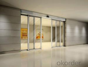 High Quality Exterior Linear Glass Sliding Automatic Door