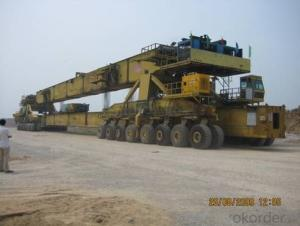 Transportation And Erection Integrated Machine 900t