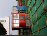Single Cage Building Hoist SC120