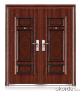 iron metal steel security door