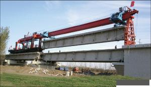 DJK160 launching girder