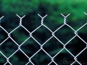Good quality Galvanized Chain Link Fence