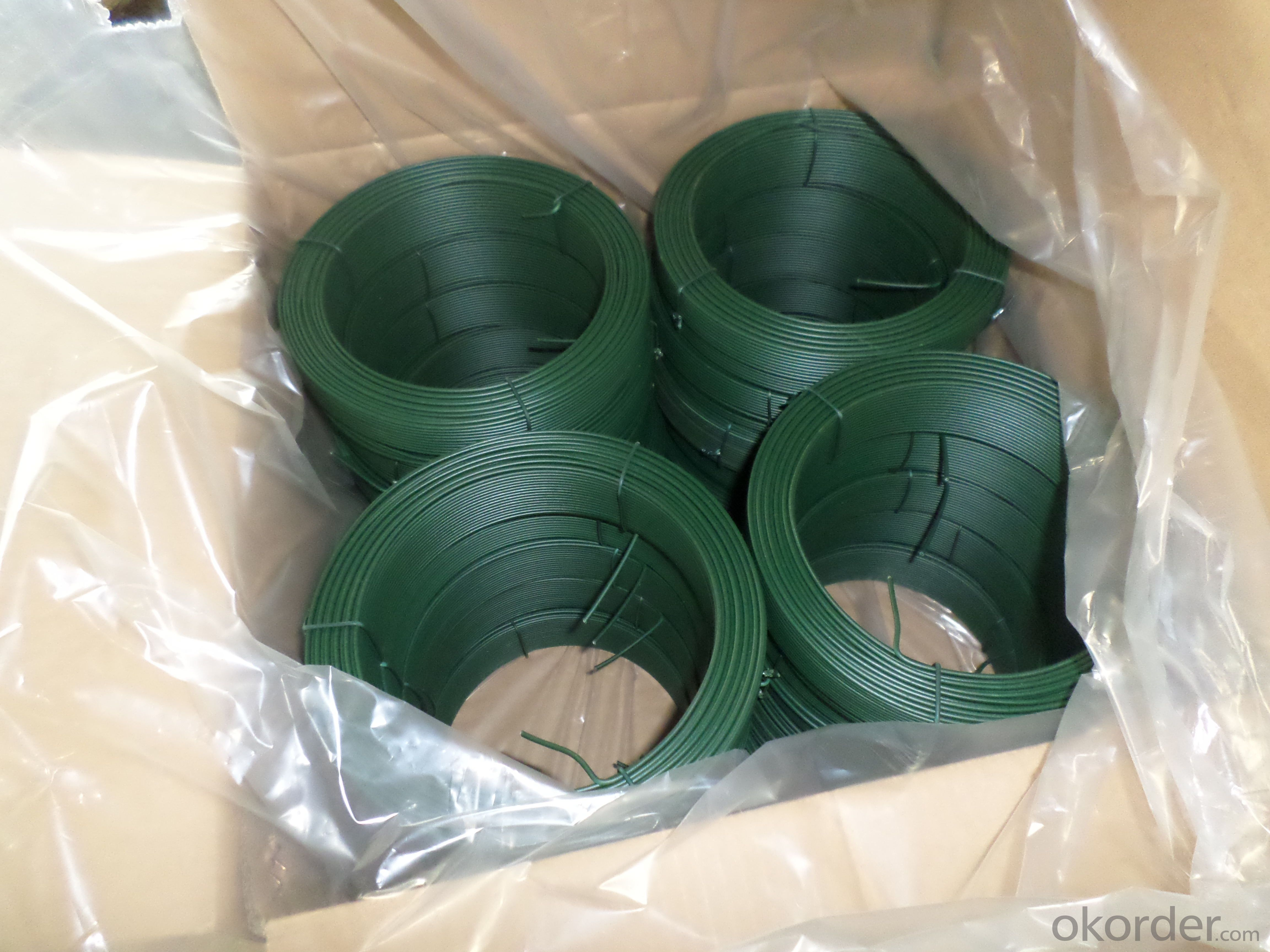 Hot PVC Coated Wire