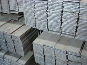 Alloyed flat bar-steel