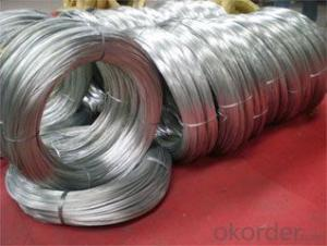 Hot dipped galvanized wire of good quality