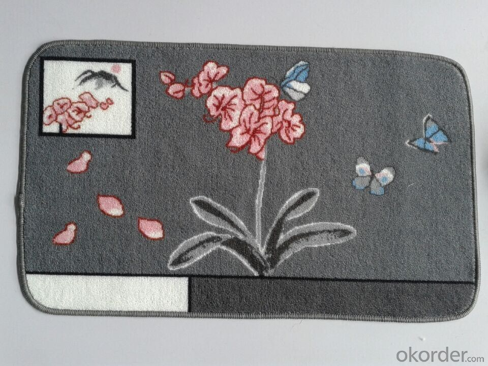 New Design Nylon Printed Mat from China Factory