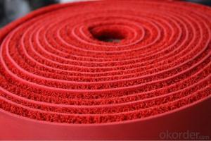 PVC coil mat roll