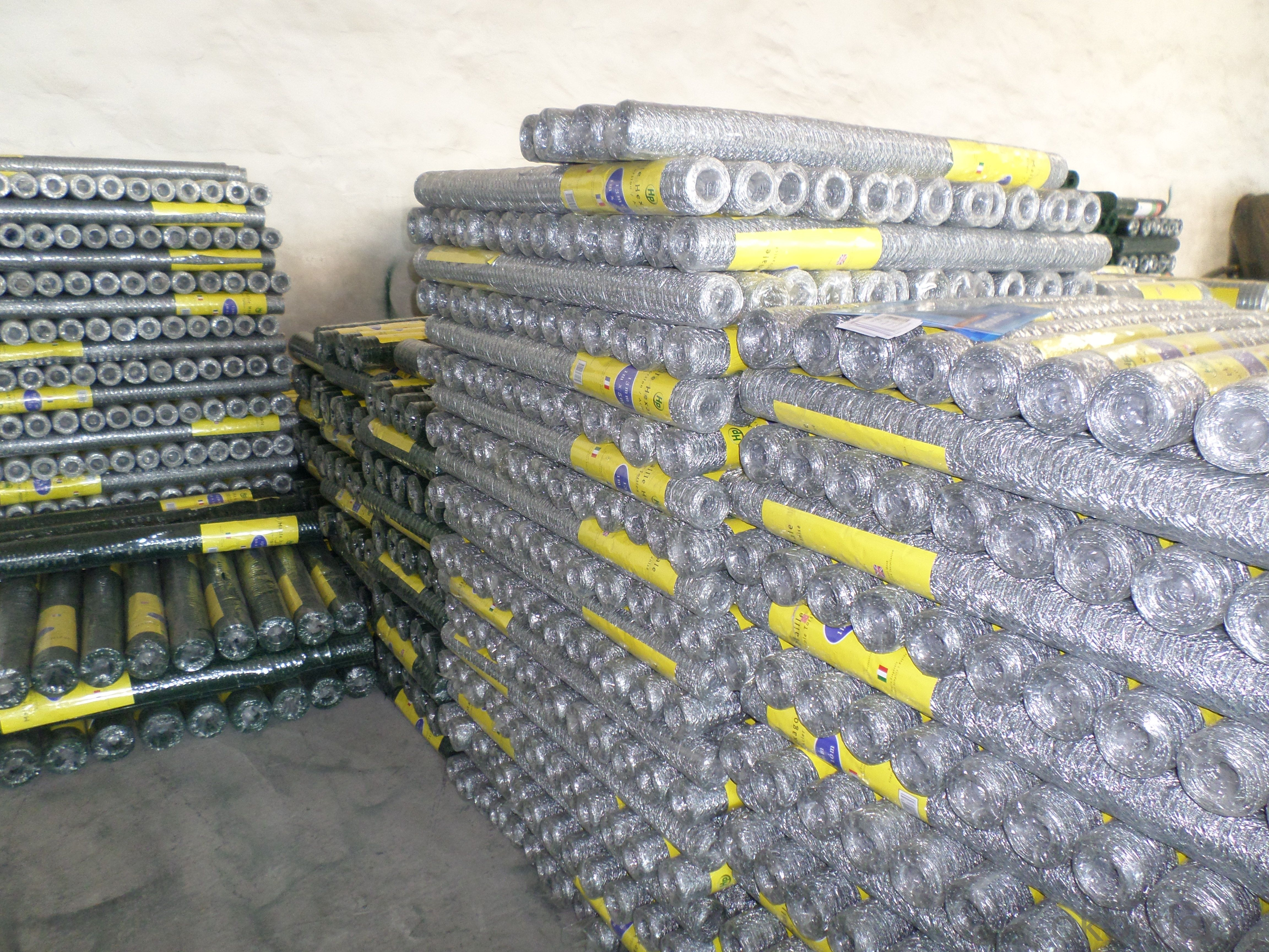 Galvanized Hexagonal Wire Mesh of high quality