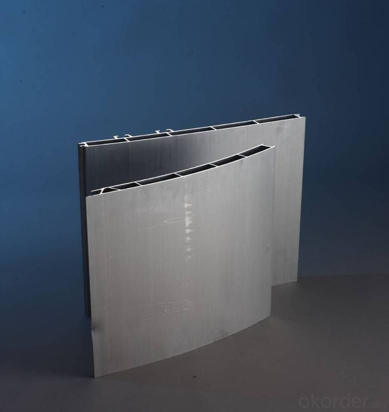 Vehicle side wall aluminum profile