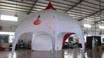 Advertising dome tents for events