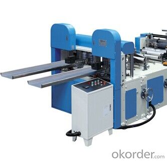 YC-F-2L 2 Lane High Speed Napkin Folder Machine