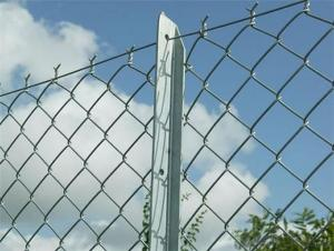 Galvanized Chain Link Fence of high quality