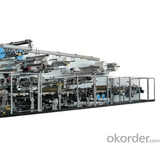 Full-servo Control Full-function Adult Diaper Production Line