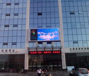 High Brightness P10 Outdoor RBG Full Color LED Display