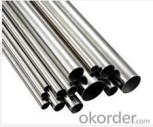 Stainless seamless  Steel Pipe polish round