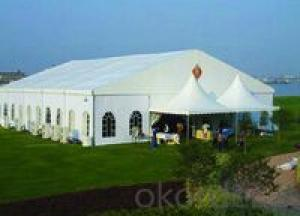Big outdoor marquee event tent