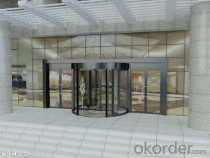 new style hot sale aluminium automatic revolving door