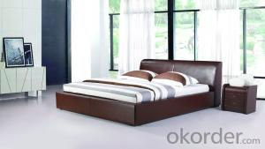 Modern Bedroom Leather Bed 2014 Type CMAX-A02