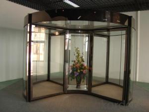 hot sale aluminium automatic revolving door new design