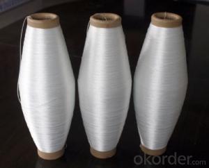 Glass fiber twist yarn