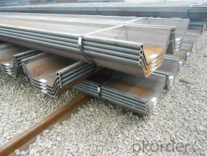 U profile Sheet Pile WRU