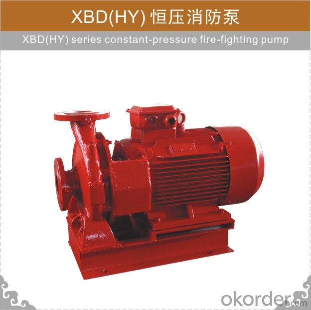 XBD-HY series Constant-pressure Fire-fighting Pump
