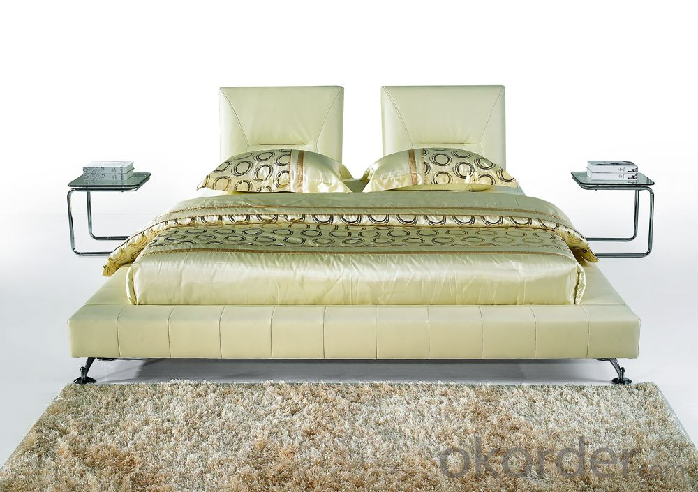 Modern Bedroom Leather Bed 2014 Type CMAX-A18