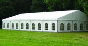 Aluminum frame wedding tent for 300 people