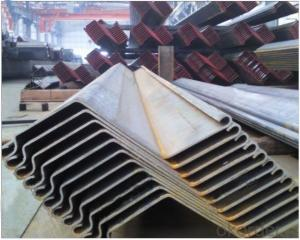 Z profile Sheet Pile WRZ