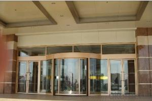 China very good supplier for glass revolving doors with professional engineers team