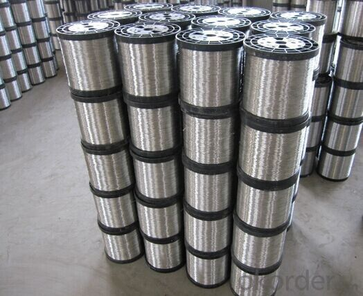 bright surface soft or hard   stainless steel wire 0.13mm