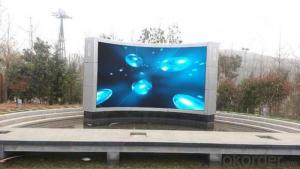 High Brightness Outdoor RBG Full Color P10 LED Display