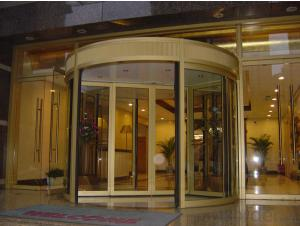 Automatic Door With Linear Magnetic Drive For Exporting
