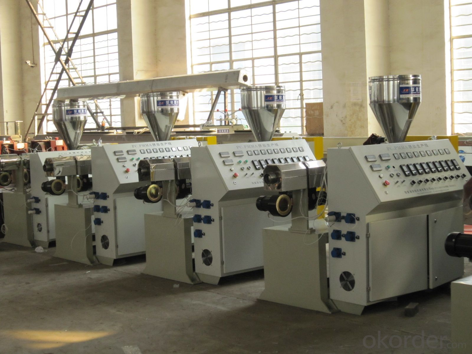 High Capacity PC PMMA Sheet Production Line