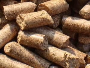 wood pellet for industry fuel