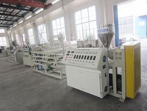 PC Lamp Light LED Tube Profile Making Machine Extrusion Production Line