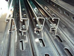 Hot dip Galvanized strut C channel
