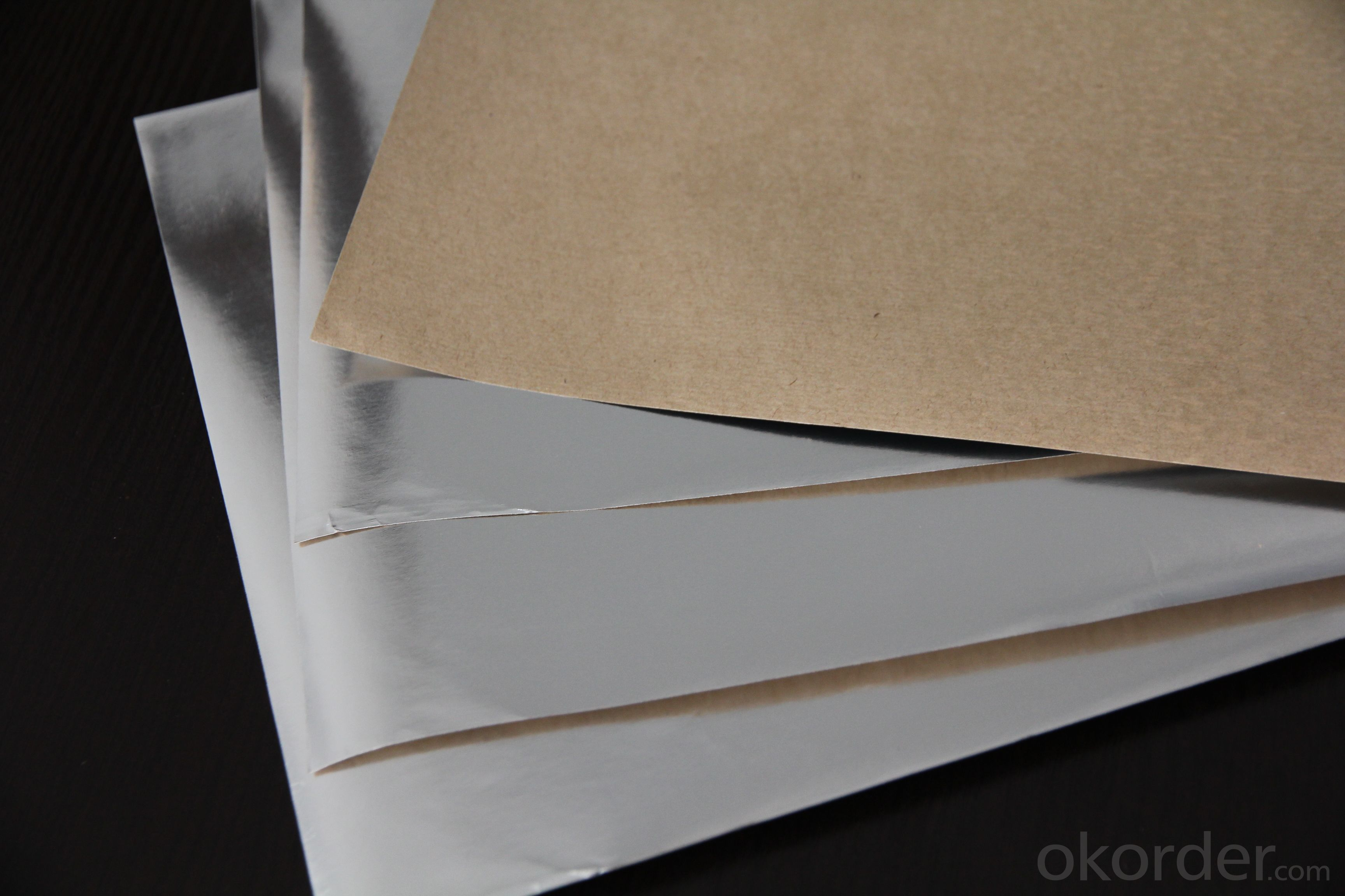 Aluminum Foil Facing, Paper Foil Insulation for Glass Wool, Ceiling Insulation, Panel Insulation and Roofing Insulation